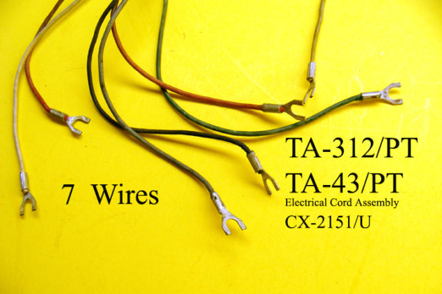 CX-2151/U Electrical Cord Assembly