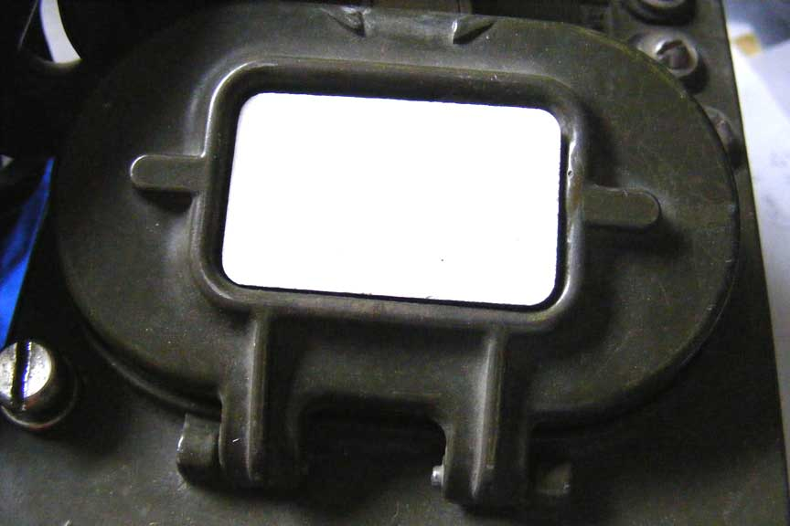 Battery Compartment Cover ID Plate