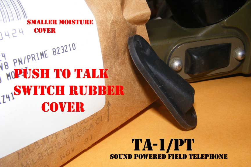 TA-1/PT Protective Rubber Cover