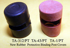 Binding Post Rubber Covers