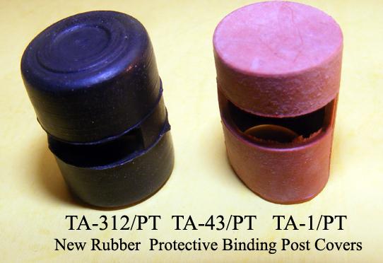 TA-312/PT TA-1/PT Binding Post Rubber Covers