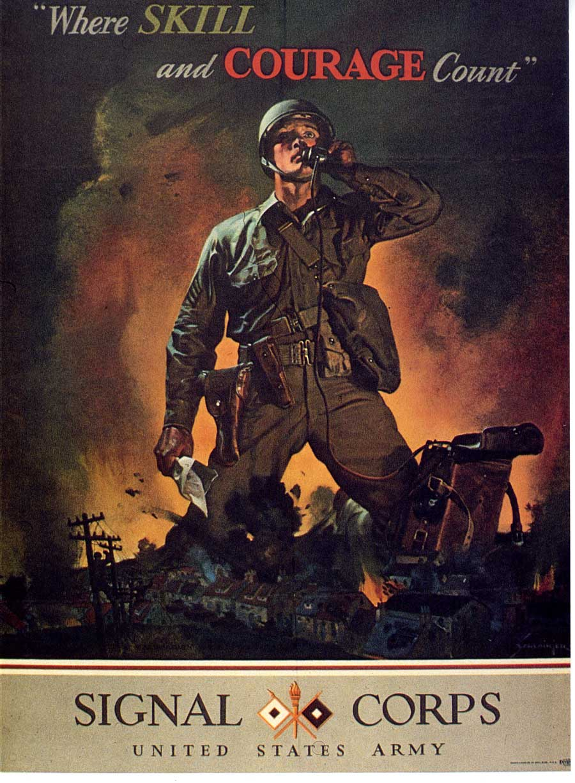 Signal Corps Photos Semaphore
