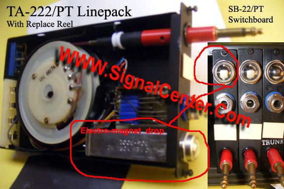 TA-222/PT SB-22/PT Switchboard Magneto Signal Drop