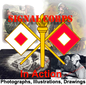 Signal Center Signal Corps Art collage-image by Pete