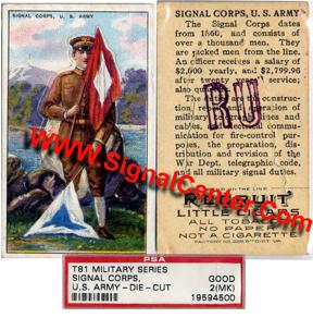 Semaphore WW1 Soldier