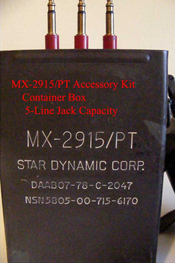 Box Container for MX-2915/PT SB-22/PT Accessory Kit