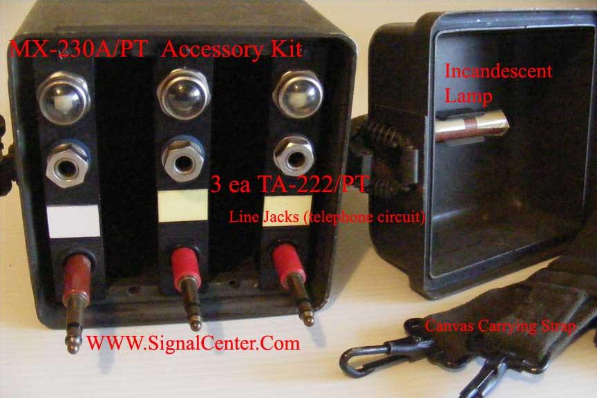 MX-230A/PT SB-22/PT Accessory Kit