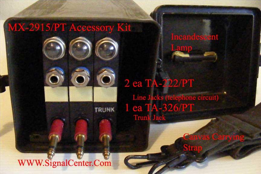MX-2915/PT SB-22/PT Accessory Kit