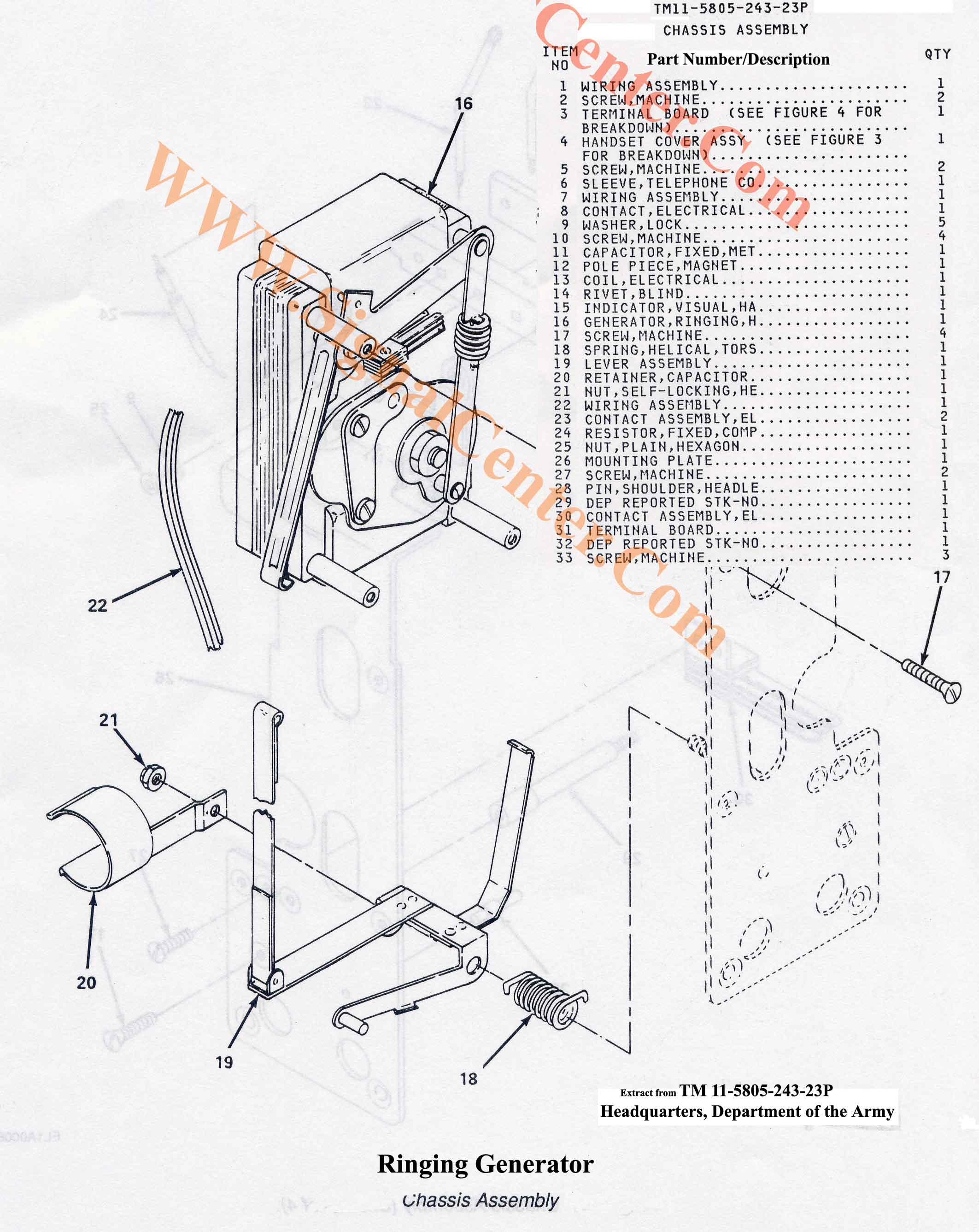 Ringing Generator